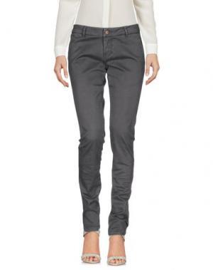 Повседневные брюки SUN 68. Цвет: свинцово-серый