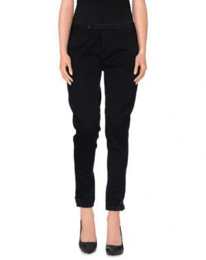 Повседневные брюки ROMANO RIDOLFI. Цвет: темно-синий