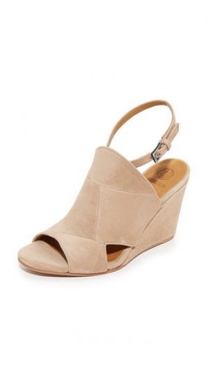 Обувь на танкетке Jordy Coclico Shoes. Цвет: оранжевый