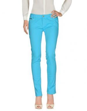 Повседневные брюки EAN 13. Цвет: бирюзовый