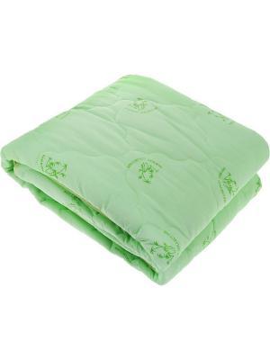 Одеяло 1,5-спальное ЭГО. Цвет: зеленый