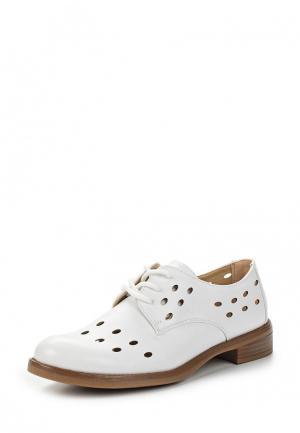 Ботинки Martin Pescatore. Цвет: белый