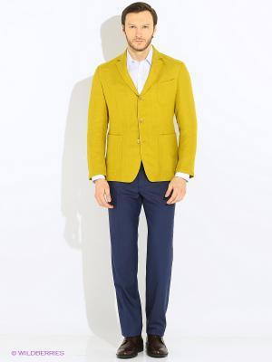 Пиджак btc. Цвет: горчичный