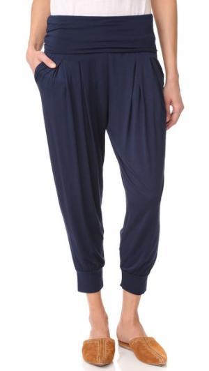 Простые брюки Three Dots. Цвет: ночной ирис