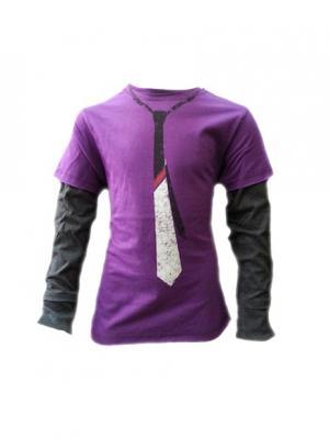Лонгслив Warrior Poet. Цвет: фиолетовый