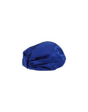Головной убор JENNIFER BEHR. Цвет: синий