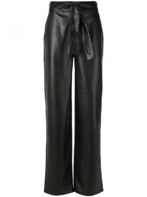 Широкие брюки Uma | Raquel Davidowicz. Цвет: чёрный