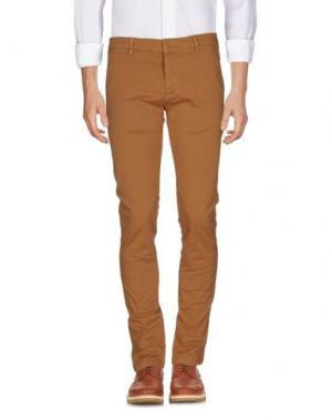 Повседневные брюки RANSOM. Цвет: коричневый