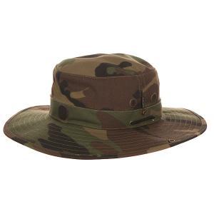 Шляпа  Co Camo Electric. Цвет: коричневый,зеленый,черный