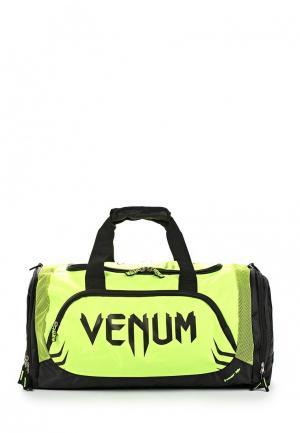 Сумка спортивная Venum. Цвет: зеленый