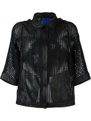 Куртка свободного кроя Demoo Parkchoonmoo. Цвет: чёрный