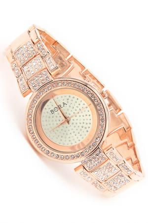 Часы с футляром BORA. Цвет: красное золото