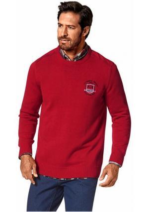 Пуловер MANS WORLD MAN'S. Цвет: красный
