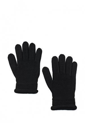 Перчатки Armani Jeans. Цвет: черный