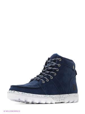 Ботинки DC Shoes. Цвет: темно-синий, черный