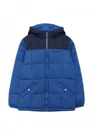 Куртка горнолыжная Columbia. Цвет: синий