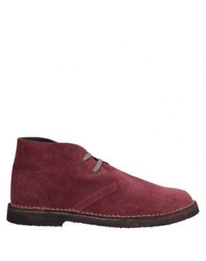 Полусапоги и высокие ботинки BARBATI. Цвет: розовато-лиловый