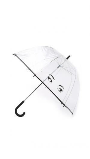 Зонт с изображением глаз Kate Spade New York