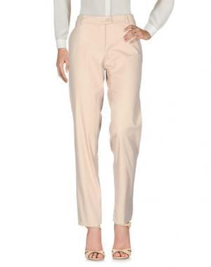 Повседневные брюки EMISPHERE. Цвет: песочный