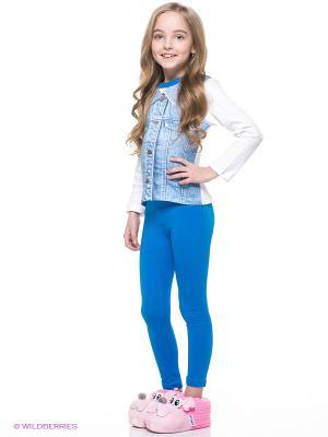 Комплекты одежды Апрель. Цвет: голубой, белый