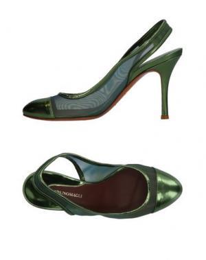 Туфли BRUNO MAGLI. Цвет: зеленый
