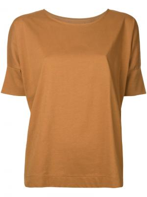 Crewneck T-shirt Lemaire. Цвет: жёлтый и оранжевый