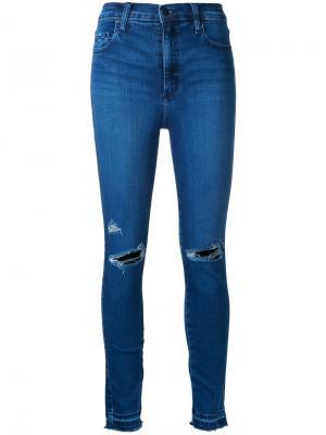 Облегающие джинсы Siren Nobody Denim. Цвет: синий