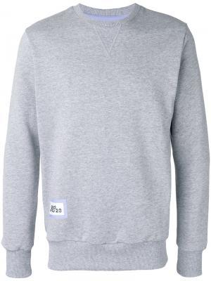 Robots print sweatshirt Lc23. Цвет: серый