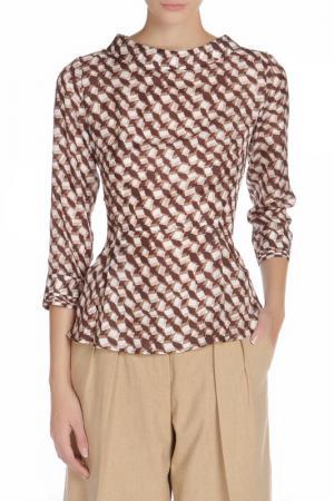 Рубашка Scervino Street. Цвет: коричневый