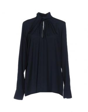 Блузка MALAICA. Цвет: темно-синий