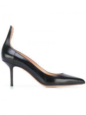 Туфли на шпильках Francesco Russo. Цвет: чёрный