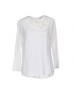 Блузка SANDRO. Цвет: белый