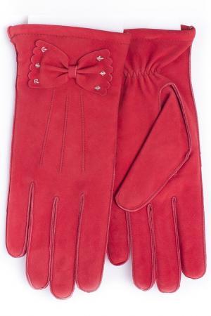 Перчатки Baggini. Цвет: красный
