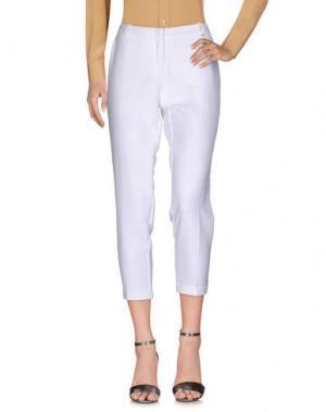 Повседневные брюки ANNARITA N.. Цвет: белый