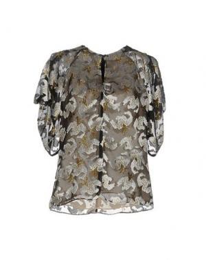 Блузка ERDEM. Цвет: черный