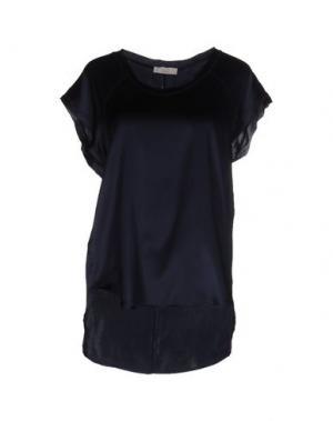 Блузка E_GO' SONIA DE NISCO. Цвет: темно-синий