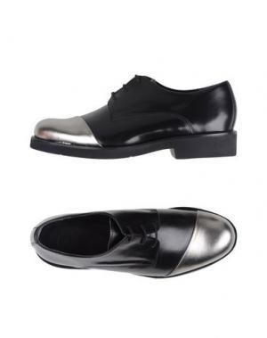 Обувь на шнурках MR. WOLF. Цвет: черный