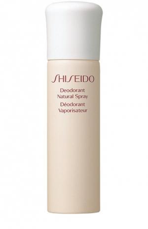 Натуральный дезодорант-спрей Shiseido. Цвет: бесцветный