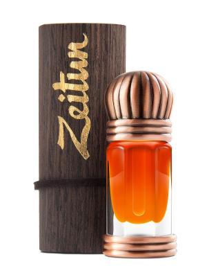 Концентрированные масляные духи Сандал Зейтун. Цвет: светло-оранжевый