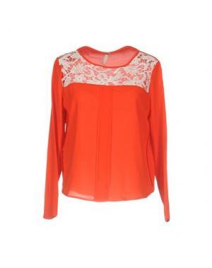 Блузка FLY GIRL. Цвет: коралловый