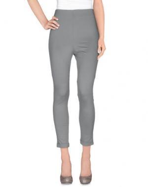 Повседневные брюки LIST. Цвет: серый
