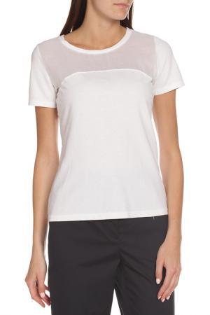 Свободная футболка с короткими рукавами EUROPEAN CULTURE. Цвет: белый