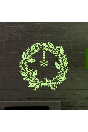 Новогодний набор Decoplastic. Цвет: зеленый