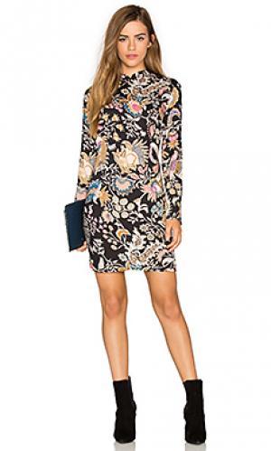 Платье с длинным рукавом eastern ROLLAS ROLLA'S. Цвет: черный