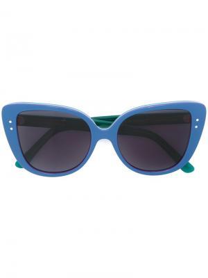 Солнцезащитные очки Adri-o Selima Optique. Цвет: синий