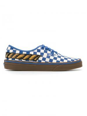 Printed sneakers À La Garçonne. Цвет: синий