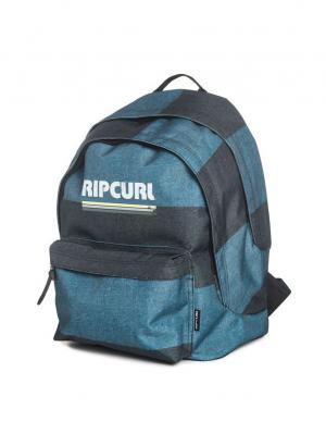 Рюкзак  MODERN RETRO DOUBLE DOME Rip Curl. Цвет: антрацитовый, серо-голубой