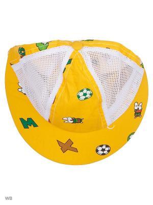 Бейсболка FOMAS. Цвет: желтый