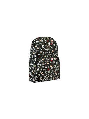 Рюкзак с черепами Skulls (черный) Kawaii Factory. Цвет: черный, белый
