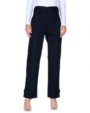 Повседневные брюки KOSTAS MURKUDIS. Цвет: темно-синий